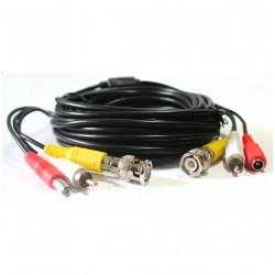 Cable Para Camara Seguridad Bnc Video Corriente 30m