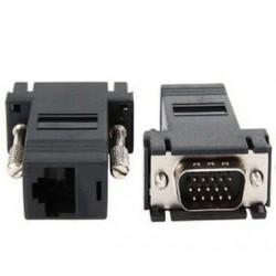 Adaptador VGA a RJ45 Extension de Video