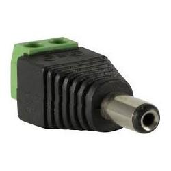 Conector Plug de Corriente Macho