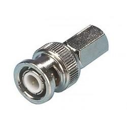 Conector Plug de Video BNC  a coaxial rg59