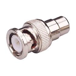 Conector Plug de Video BNC  a RCA Hembra