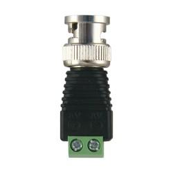 Conector Plug de Video BNC tipo Balun